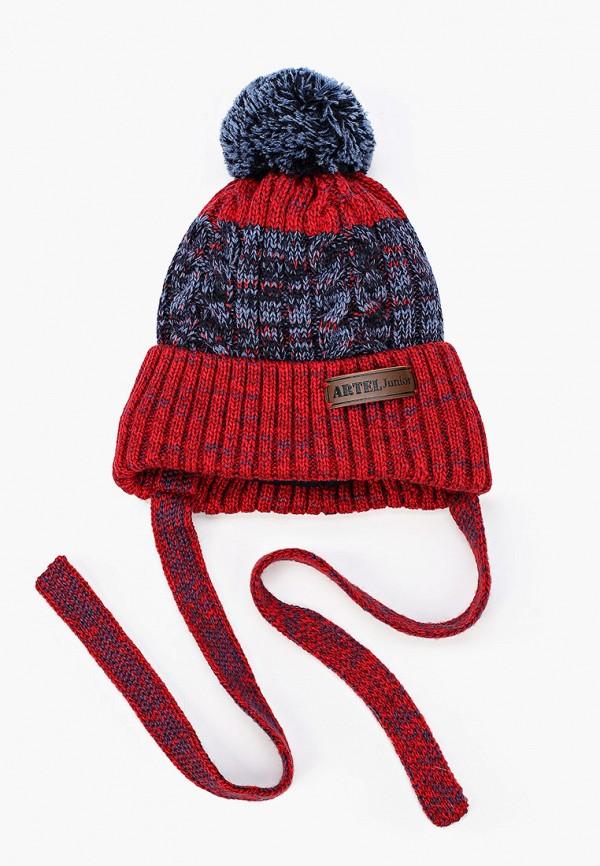 шапка artel для мальчика, красная