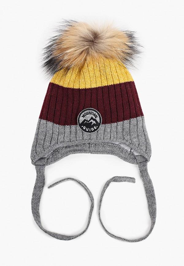 шапка artel для мальчика, разноцветная