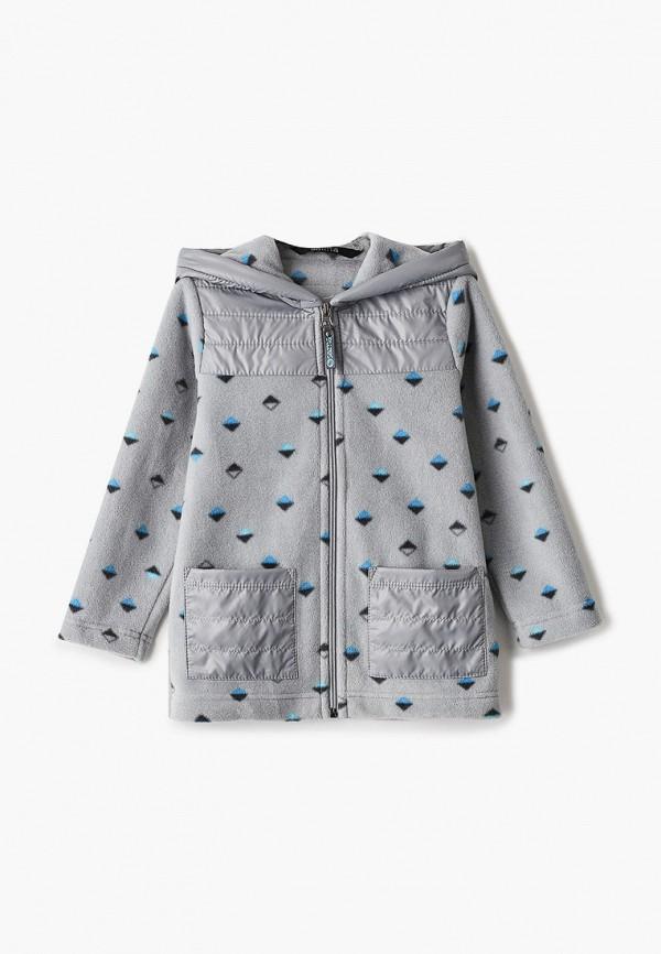 легкие куртка saima для мальчика, серая