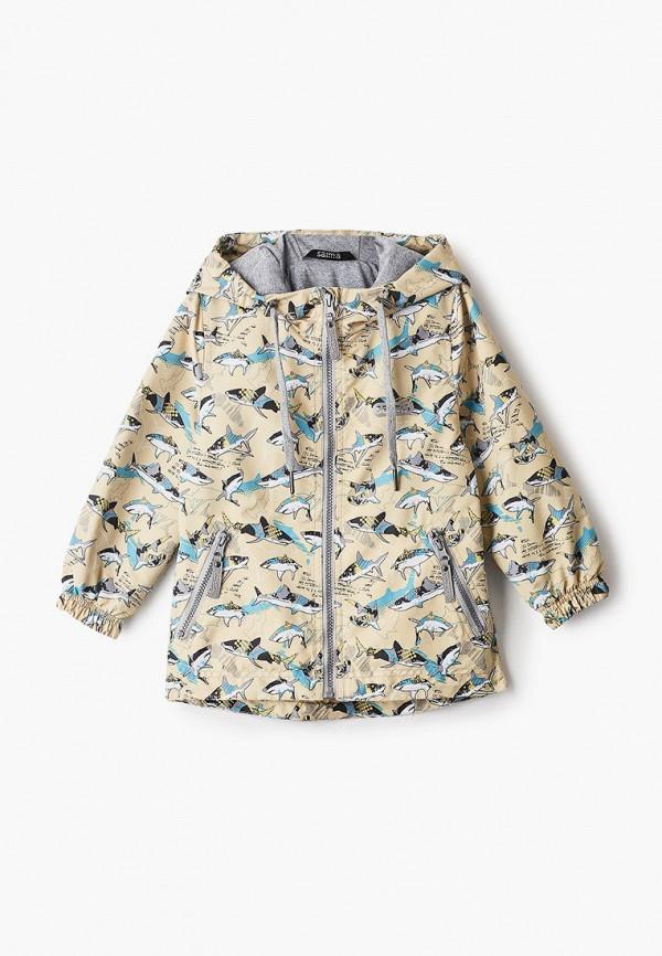 легкие куртка saima для мальчика, желтая
