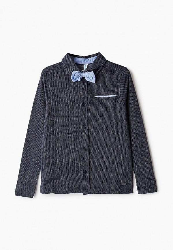 рубашка acoola для мальчика, синяя