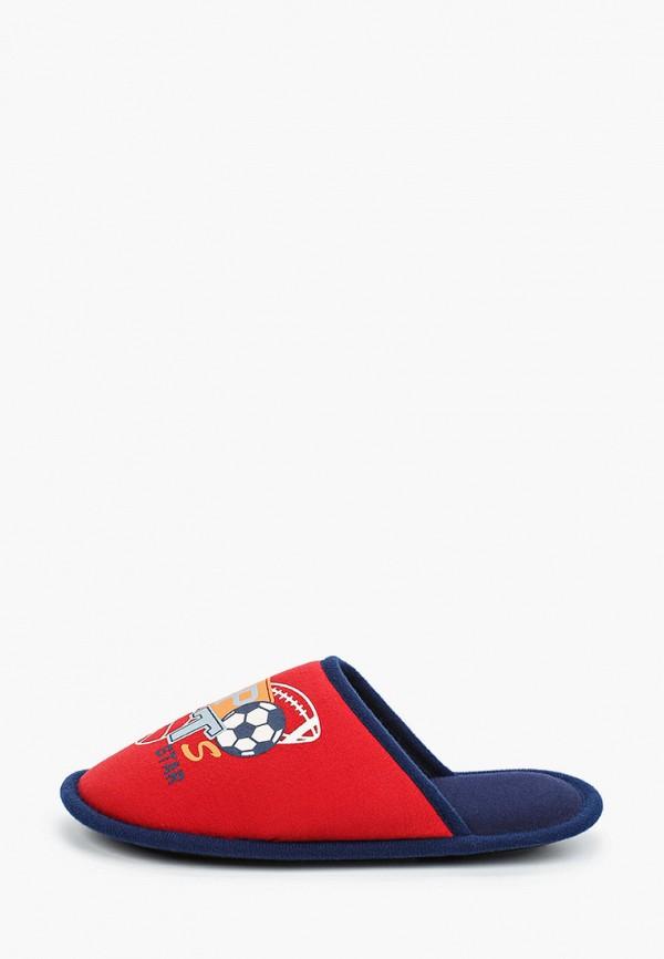 тапочки t.taccardi для мальчика, красные