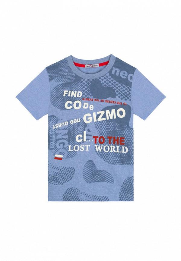 футболка с коротким рукавом bell bimbo для мальчика, голубая