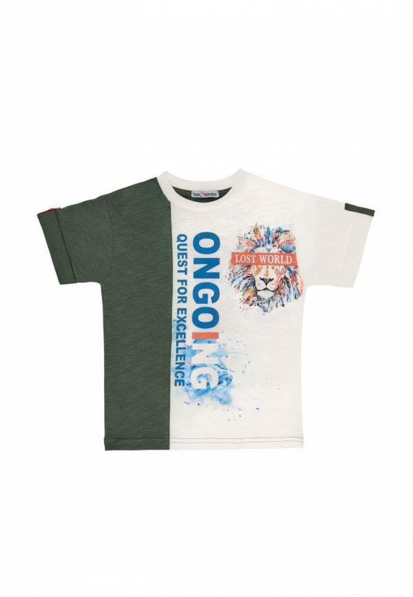 футболка с коротким рукавом bell bimbo для мальчика, хаки
