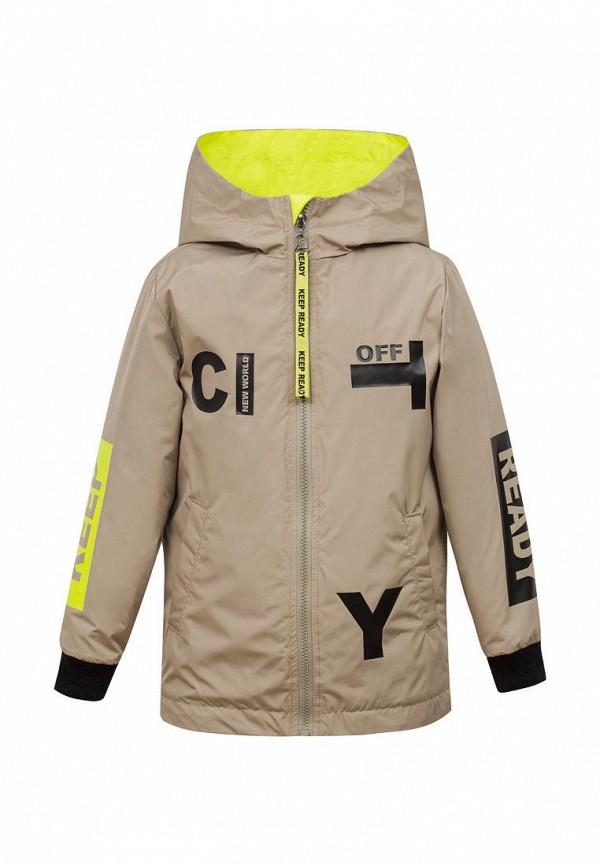 утепленные куртка bell bimbo для мальчика, бежевая