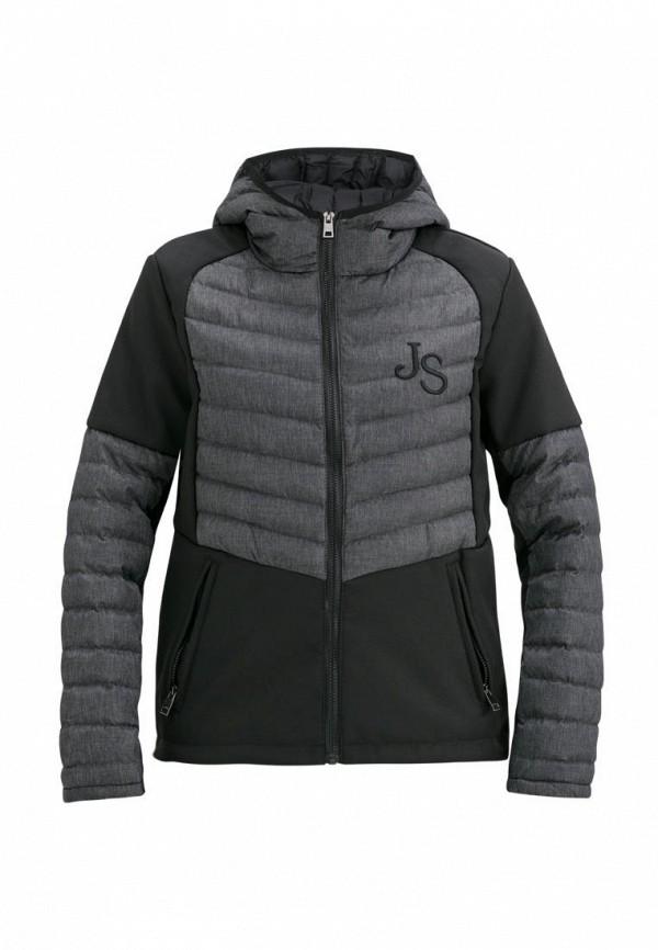 утепленные куртка jan steen для мальчика, серая