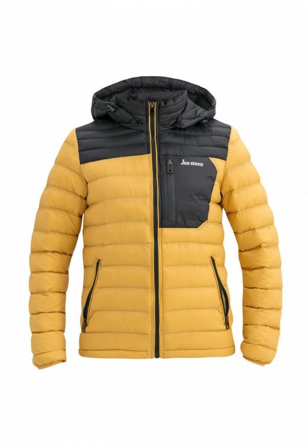 утепленные куртка jan steen для мальчика, желтая