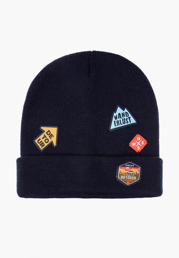шапка playtoday для мальчика, синяя