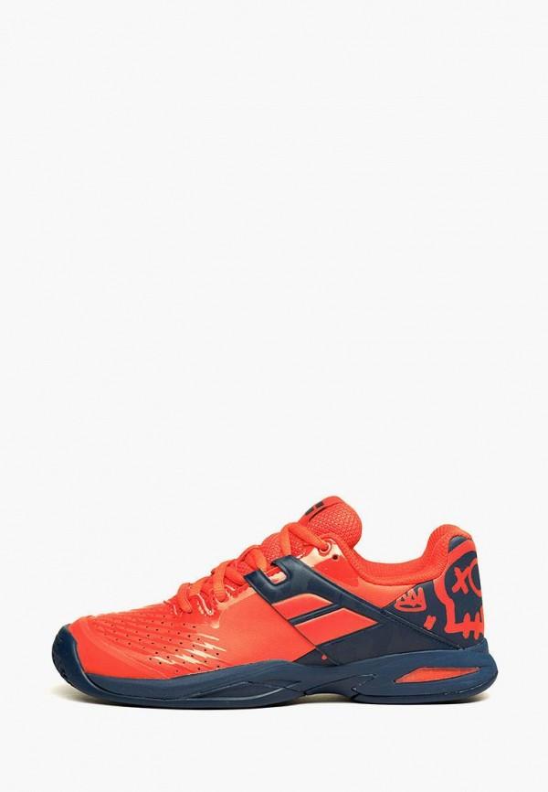 кроссовки babolat для мальчика, красные