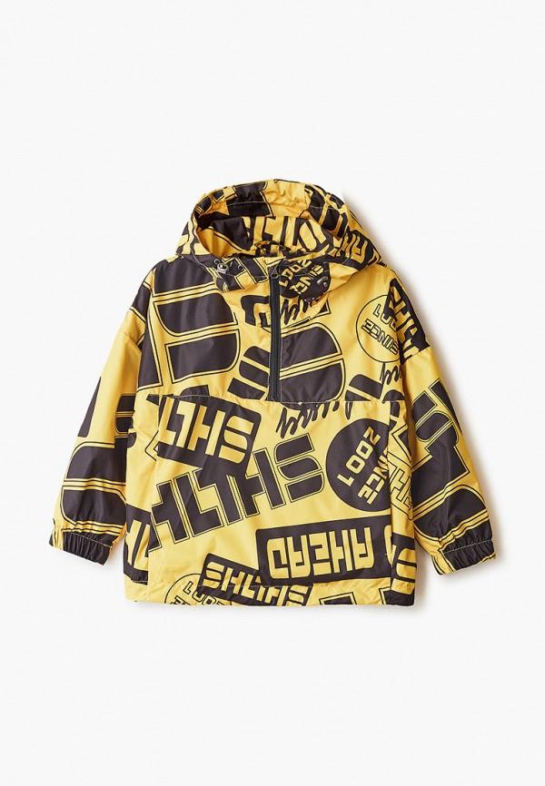 легкие куртка шалуны для мальчика, желтая