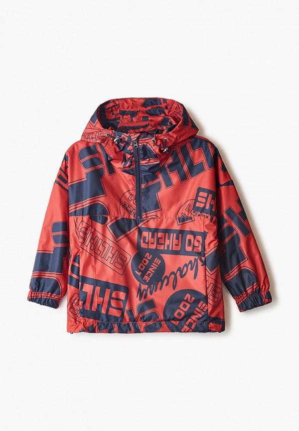 легкие куртка шалуны для мальчика, красная