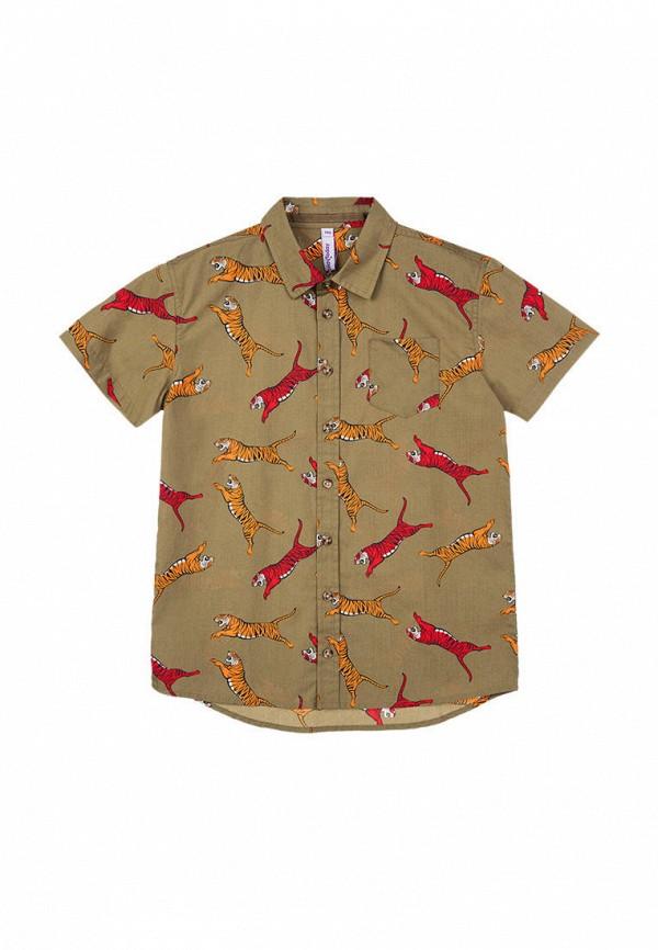 рубашка playtoday для мальчика, хаки
