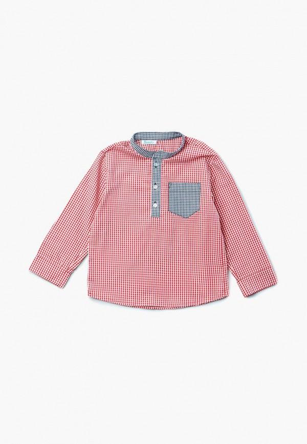 рубашка sonata kids для мальчика, красная