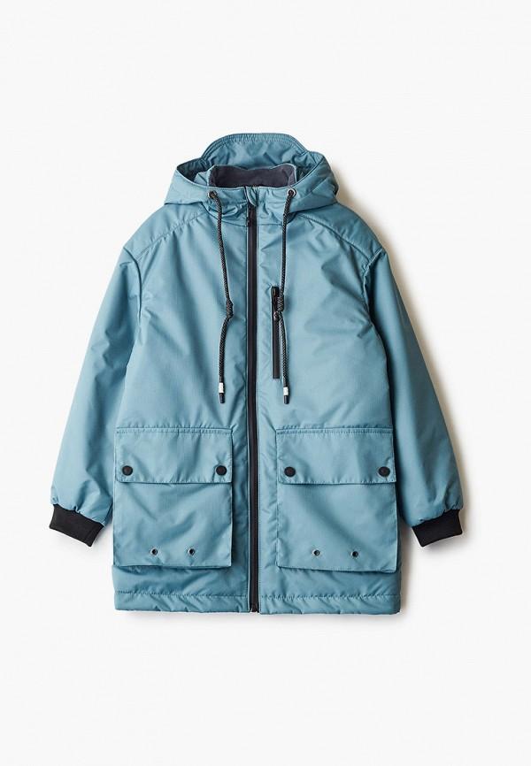 легкие куртка emson для мальчика, голубая