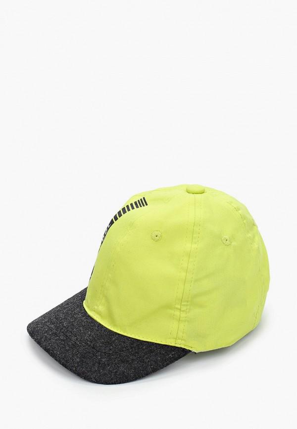 бейсболка coccodrillo для мальчика, зеленая