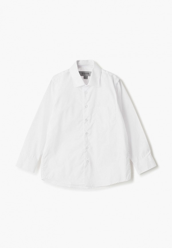 рубашка stenser для мальчика, белая