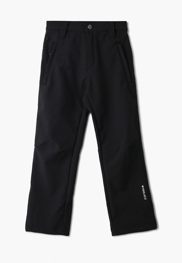 утепленные брюки icepeak для мальчика, черные