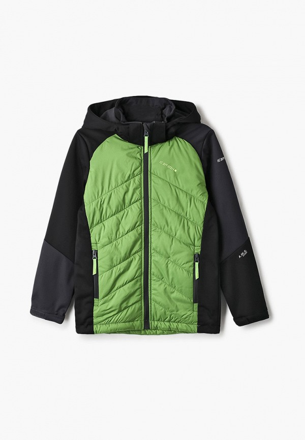 утепленные куртка icepeak для мальчика, зеленая