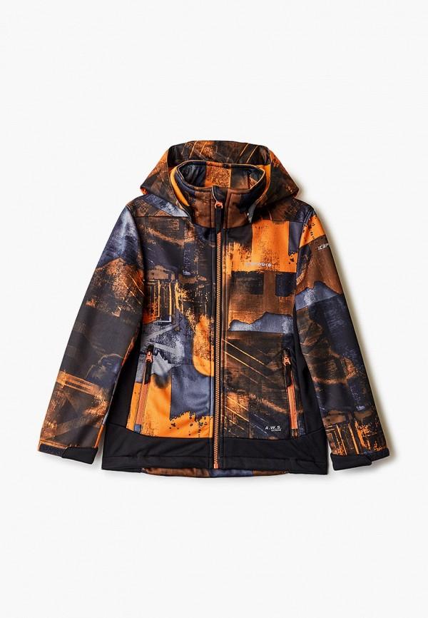 легкие куртка icepeak для мальчика, оранжевая