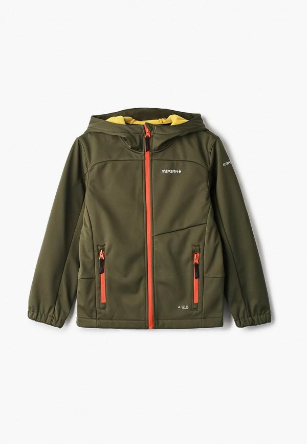 легкие куртка icepeak для мальчика, зеленая