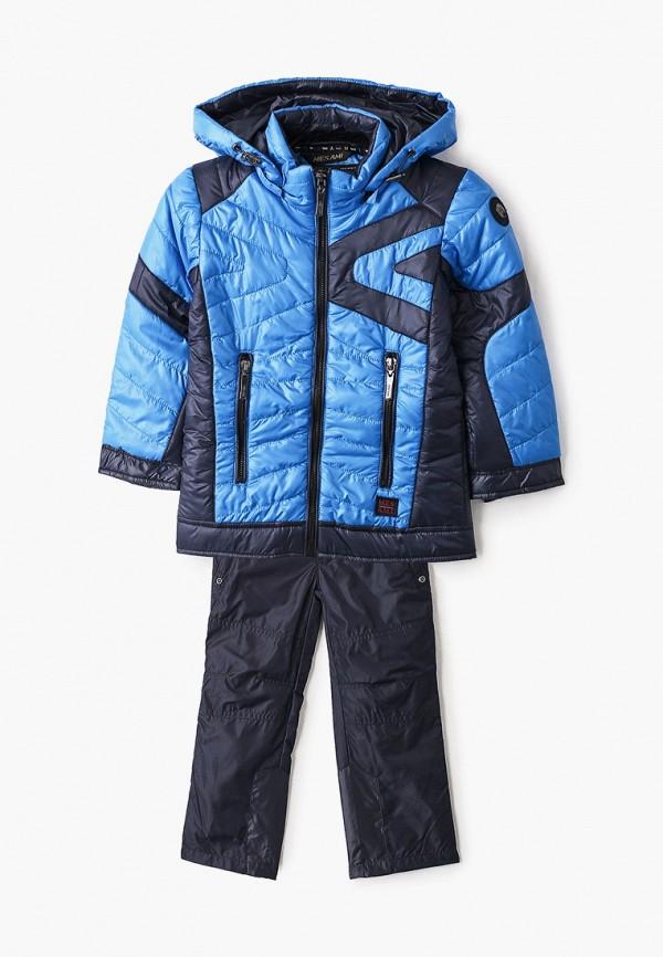 комбинезоны и костюмы mes ami для мальчика, синие