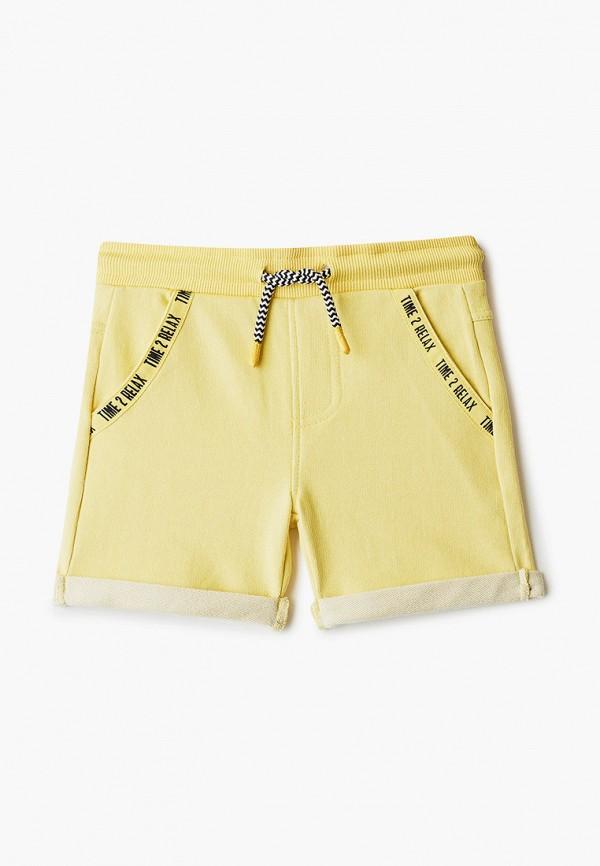шорты coccodrillo для мальчика, желтые