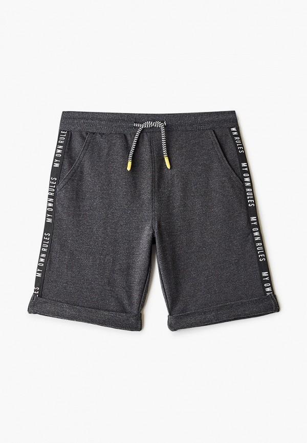 спортивные шорты coccodrillo для мальчика, серые