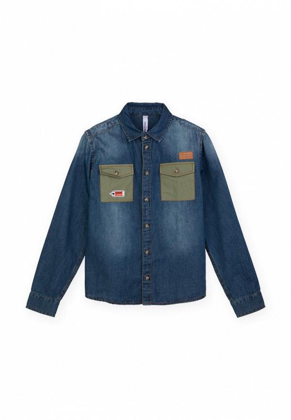 джинсовые рубашка playtoday для мальчика, синяя