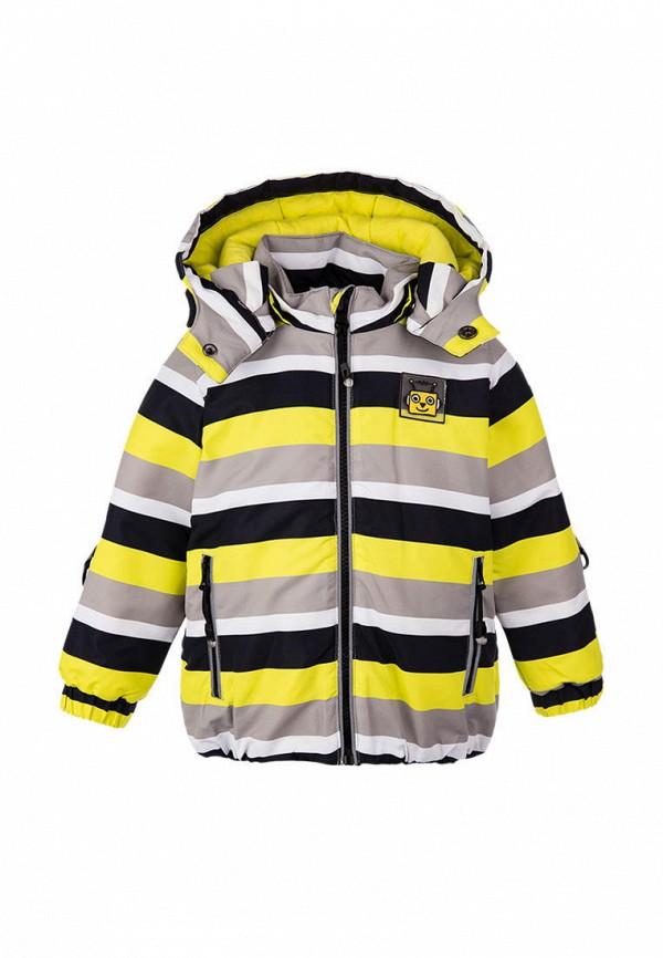 утепленные куртка playtoday для мальчика, разноцветная