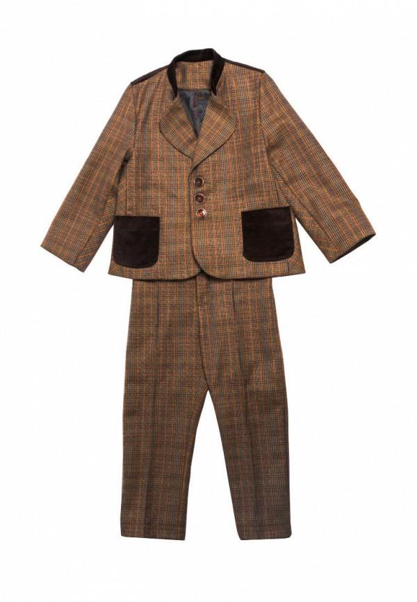 костюм yes!kids для мальчика, коричневый