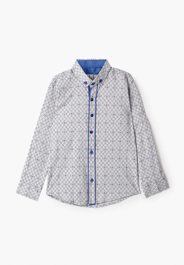 рубашка mili для мальчика, серая