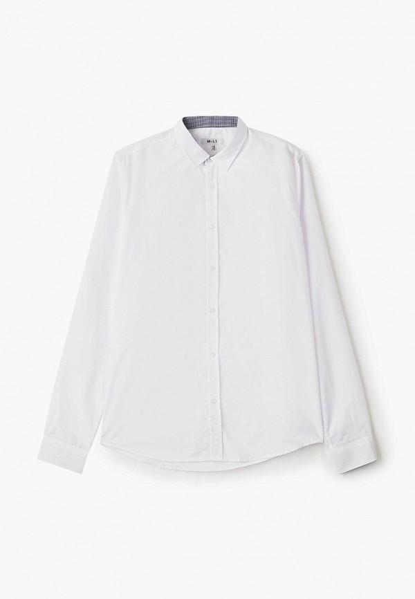 рубашка mili для мальчика, белая