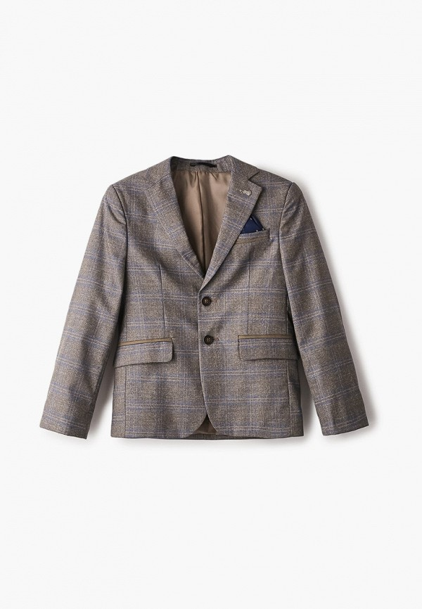пиджак mili для мальчика, серый