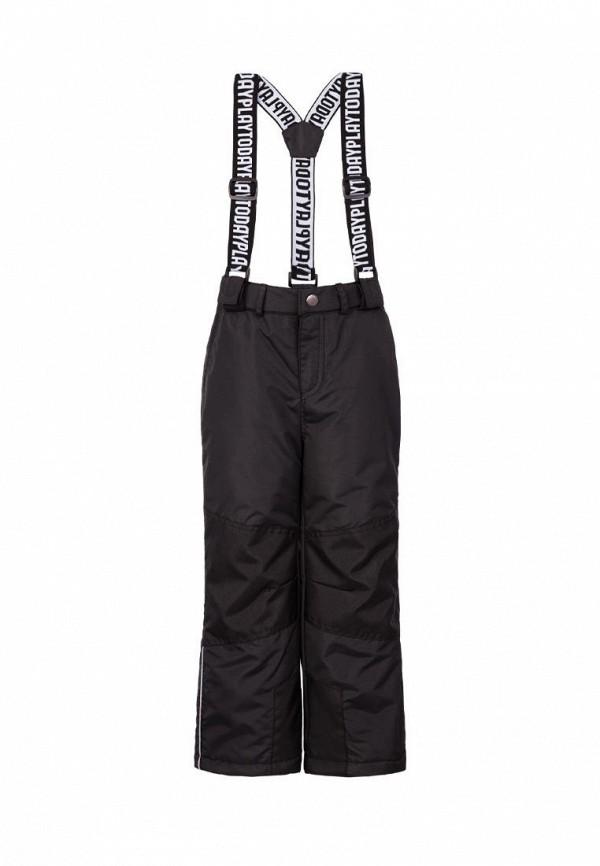 утепленные брюки playtoday для мальчика, черные