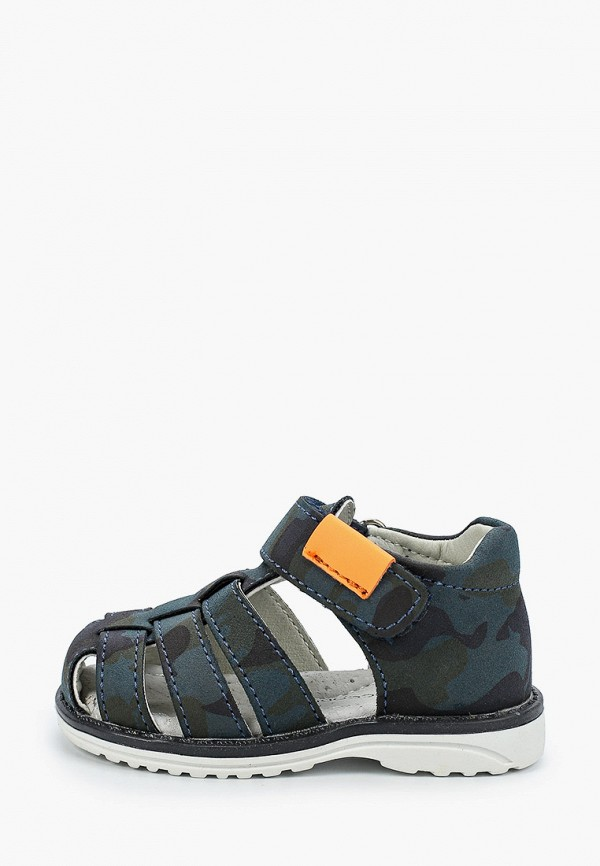 сандалии coccodrillo для мальчика, синие