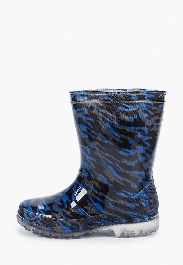 резиновые сапоги coccodrillo для мальчика, синие
