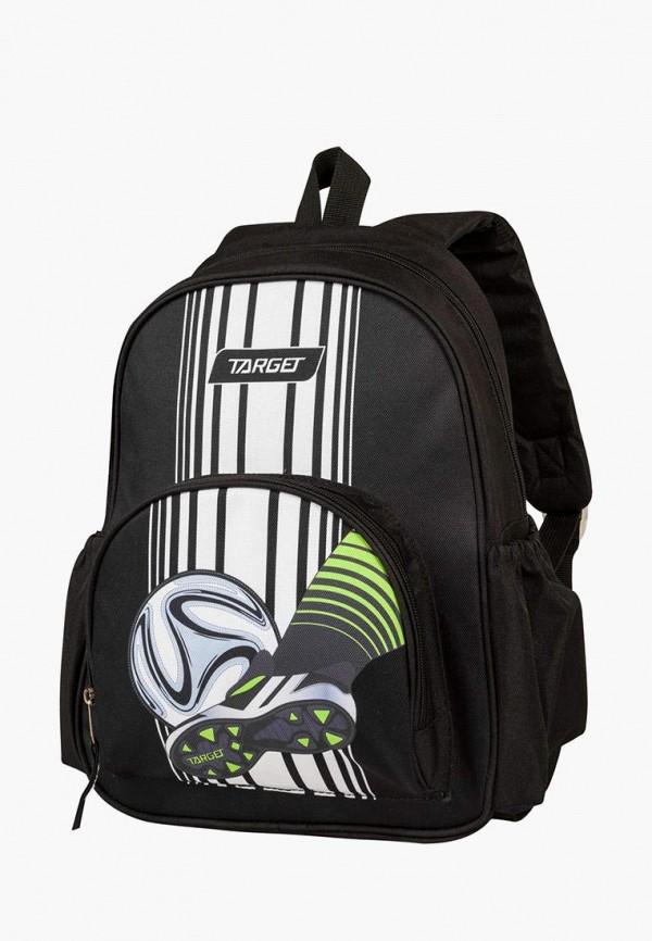 рюкзак target для мальчика, черный