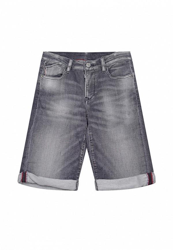 джинсовые шорты le temps des cerises для мальчика, серые