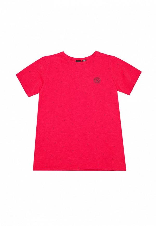 футболка с коротким рукавом le temps des cerises для мальчика, красная