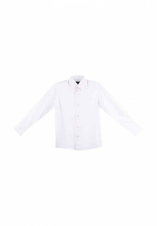 рубашка kat для мальчика, белая