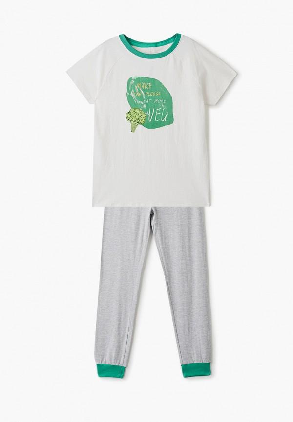 пижама sela для мальчика, разноцветная
