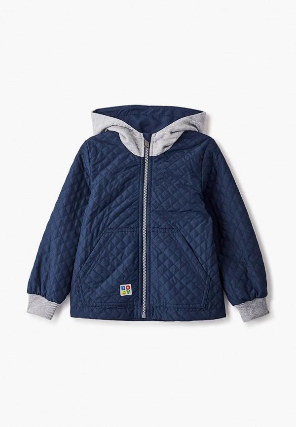 легкие куртка артус для мальчика, синяя
