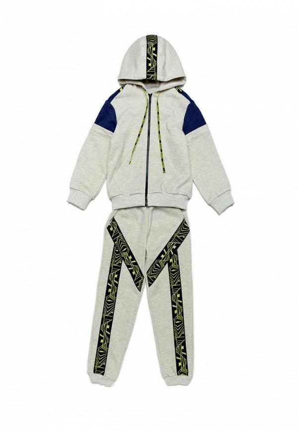 спортивный костюм ёмаё для мальчика, серый