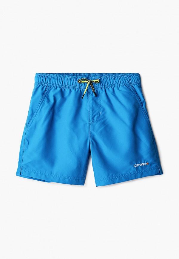 спортивные шорты icepeak для мальчика, синие