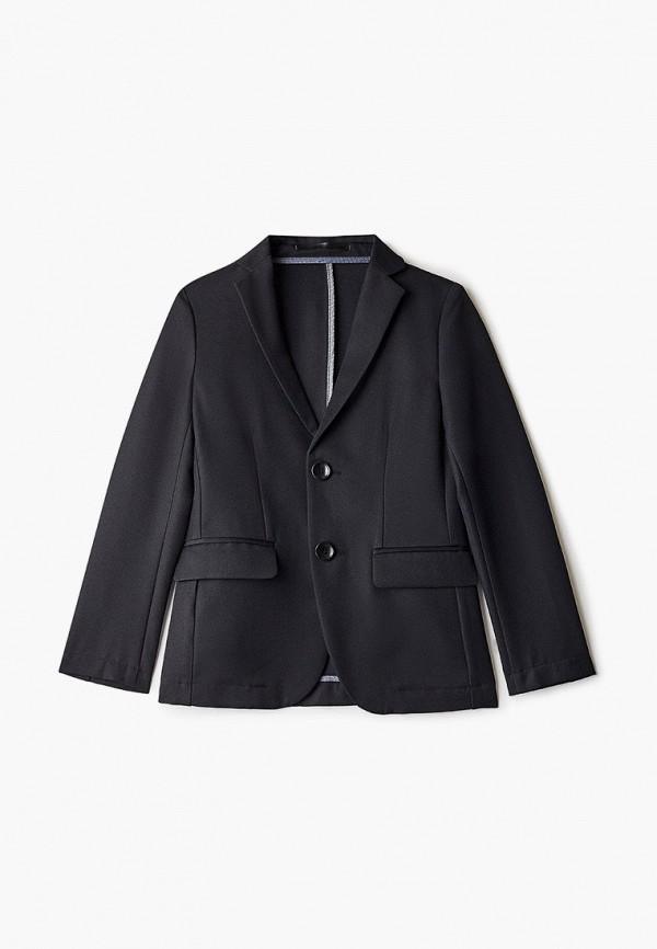 пиджак stenser для мальчика, черный