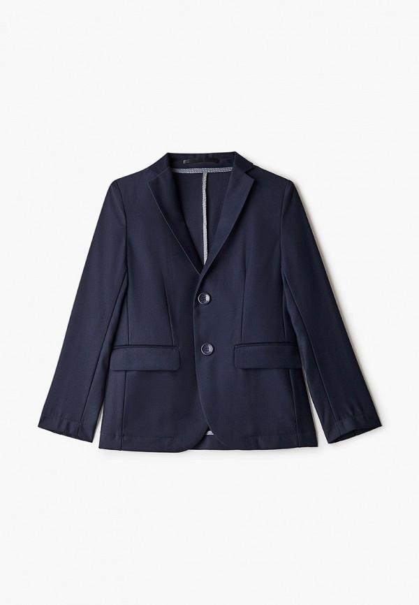 пиджак stenser для мальчика, синий