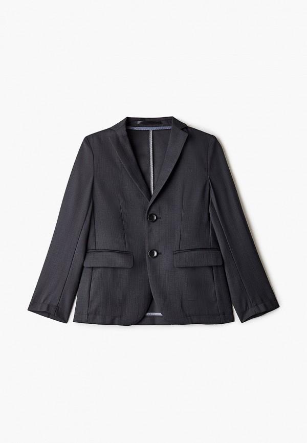 пиджак stenser для мальчика, серый