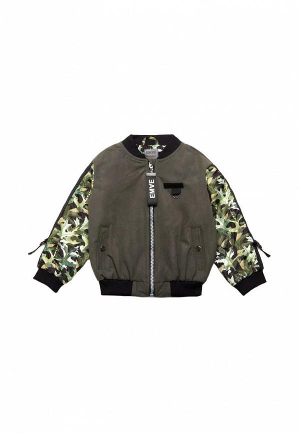 утепленные куртка ёмаё для мальчика, хаки