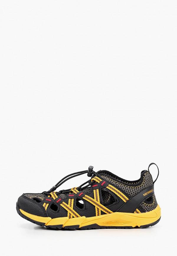 сандалии merrell для мальчика, черные