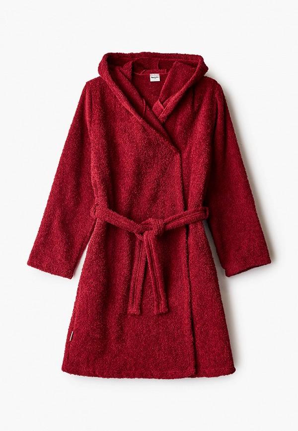 халат looklie для мальчика, бордовый